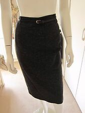 M & S ladies luxury with wool charcoal skirt bnwt size 12 RRP £45