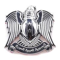 Hawk Eagle 3D Car Auto Emblem Badge Sticker Decal Chromed Metal SUV Motorcycle S