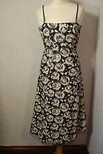 BNWT Ariella black & white print dress netted 8-10
