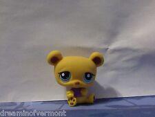 Littlest Pet Shop Honey Bear With Purple Shirt #1835 New Loose