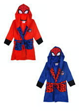 Spider-Man Kinder Bademantel Morgenmantel