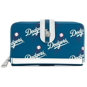 Fremont Die Los Angeles Dodgers Women Coin Purse Change Wallet Coin Pouch Card Holder Clutch With Key