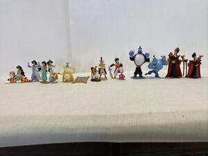 Vintage  Disney Classics - Aladdian- Figure Lot of 13