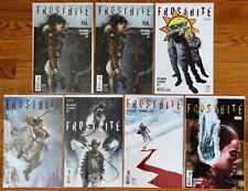 DC Comics Vertigo FROSTBITE #1, 2, 3, 4, 5, 6 Full Run + Extra #1 Issue 2016