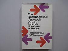 THE TRANSTHEORETICAL APPROACH-CROSSING-PROCHASKA & DICLEMENTE--RARE  BOOK-1984