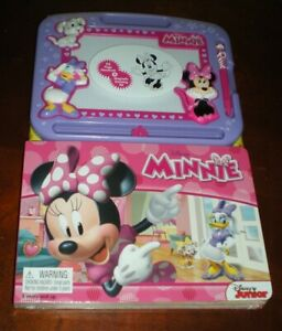Disney Minnie Mouse Storybook & Magnetic Drawing Board