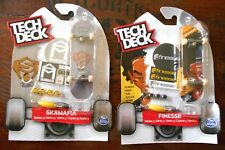 2 x TECH DECK 96 mm FINGERBOARD SKATEBOARDS FINESSE & SK8MAFIA S. 5 - NEW/SEALED
