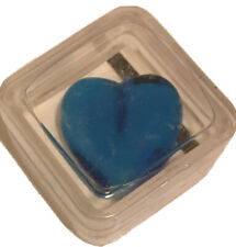 Blue Heart Gick Beads