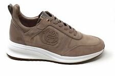 Taryn Rose Womens Zadie Fashion Sneaker Taupe Lux Suede Size 11 M US