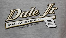 Dale Earnhardt Jr. Chase #8 Budweiser Racing Men's Gray Sweatshirt Size Large