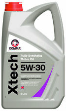 Comma XTECH 5W-30 5L Fully Synthetic Performance Engine Oil XTC5L