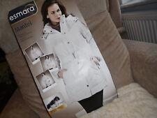 Mantel Gr 40 Neu wärmende Wattierung Kapuze abnehmbar elegant