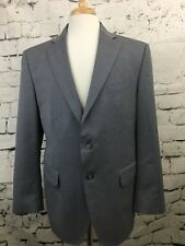 Banana Republic Modern Fit Mens Sport Coat Blazer 2 Button Vented Wool Gray 40S