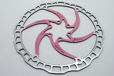 Ashima Airotor Mountain Bike Disc Brake Rotor MTB 180mm 180 mm 112g PINK