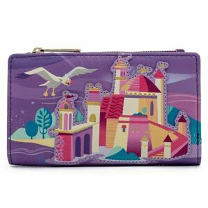 Loungefly Disney The Little Mermaid Ariel Castle Collection Wallet