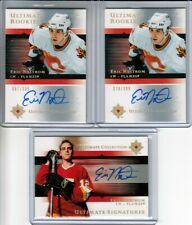 2005-06 Ultimate Collection Eric Nystrom 3 x RC Auto LOT
