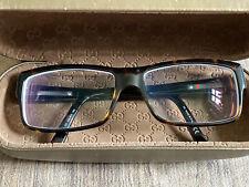 320€ GUCCI Brille GG 1615 086 Unisex Brillengestell Fassung Havana Logo Luxus