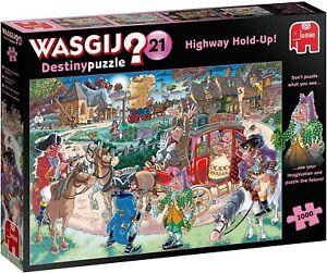Wasgij Destiny 21 - Highway Hold Up 1000 piece Jigsaw