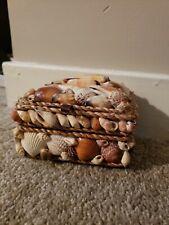Shell Covered Jewelery Box