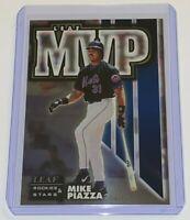 1998 Leaf Rookies & Stars National League MVP /5000 Mike Piazza #15 MLB Mets HOF