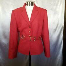 Tahari Arthur S. Levine Size 10P Blazer Front Button Jacket