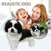 Realistic Toy Dog Realistic Figure Toy Dog Plush Stuffed Anim Toy For Kids
