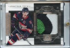 2010-11 Dominion Peerless Patches 3-Color Patch #4 Jonathan Toews #'d 7/25