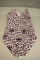 Mikoh Swimwear Las Palmas 2 One-Piece Swimsuit - Women's Size M, Leopard NEW