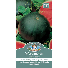 Mr Fothergill's Sugar Baby Water Melon Fruit Seed