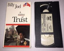 Billy Joel A Matter of Trust VHS Movie Concert, Pre-owned
