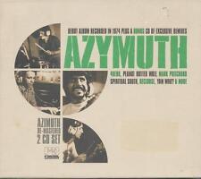 AZYMUTH = AZiMUTH RE-MASTERED 2CD SET = LATIN SAMBA DOWNTEMPO CHILL GROOVES !!