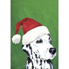 Dalmatian Christmas Flag