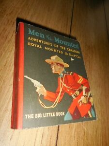 1934 Men of the Mounted Cocomalt Big Little Book VF+