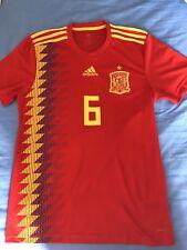 Camiseta Selección Española INIESTA Mundial 2018
