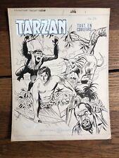 Couverture Originale TARZAN : Tarzan en danger n°41