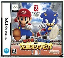 Used DS Mario & Sonic at the Olympic Games NINTENDO JAPANESE IMPORT