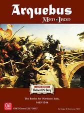 Men of Iron: PRESALE Arquebus - The Battle for Northern Italy 1495-1544 board ga