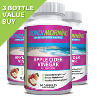 Apple Cider Vinegar Capsules, Supplement For Weight Loss & Metabolism Boost