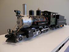 LGB 2-6-0 Mogul steam locomotive #2019 Colorado & Southern Green Cab