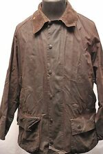 "BARBOUR A190 BEAUFORT WAX COTTON JACKET BROWN 44""/112CM GH84"