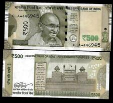 "Rs.500/- Urjit Patel  Star Note ""E"" Inset  Prefix 6LA  2016 - UNC  LATEST"