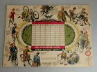 Stundenplan Wanderer Fahrräder um 1935 - TOPZUSTAND (76604)