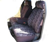 PLAIN GREY VELOUR SEAT COVER FIT FORD EA - XF, XG, XH 3 SEATER UTE