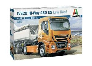 Iveco Hi-Way 480 E5 Low Roof Truck Kit ITALERI 1:24 IT3928