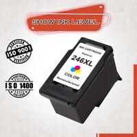 1 PG-246XL Color Ink Cartridge for Canon PIXMA MG2420 MG2520 MG2522 MG2525 TS302