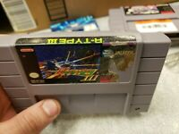 R-Type 3 III  The Third Lightning (SNES, 1994) Authentic! Works great! Super Nes