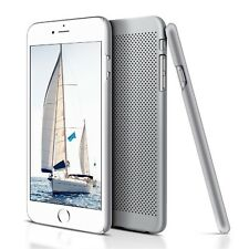 ULTRA Slim Grigio Mesh Hard Back Case Cover Guscio Per iPhone 6 S iPhone 6
