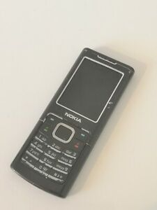 Nokia Classic 6500 - Black (Unlocked) Mobile Phone