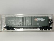 MICRO TRAINS N Scale 75120 British Columbia Railway 50' Box Double Plug Doors