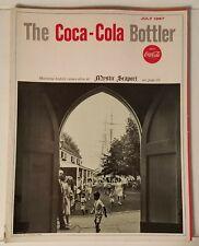 THE COCA-COLA BOTTLER - VINTAGE MAGAZINE - JULY 1967
